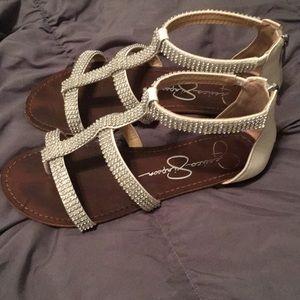 Jessica Simpson Sparkle Sandals